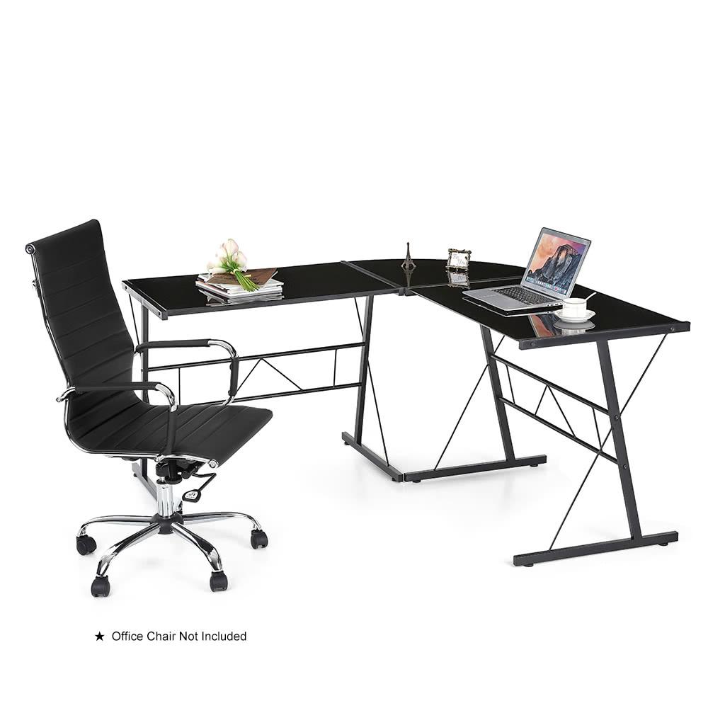 En forme de l ikayaa moderne de coin pour ordinateur pc - Table pour pc de bureau ...