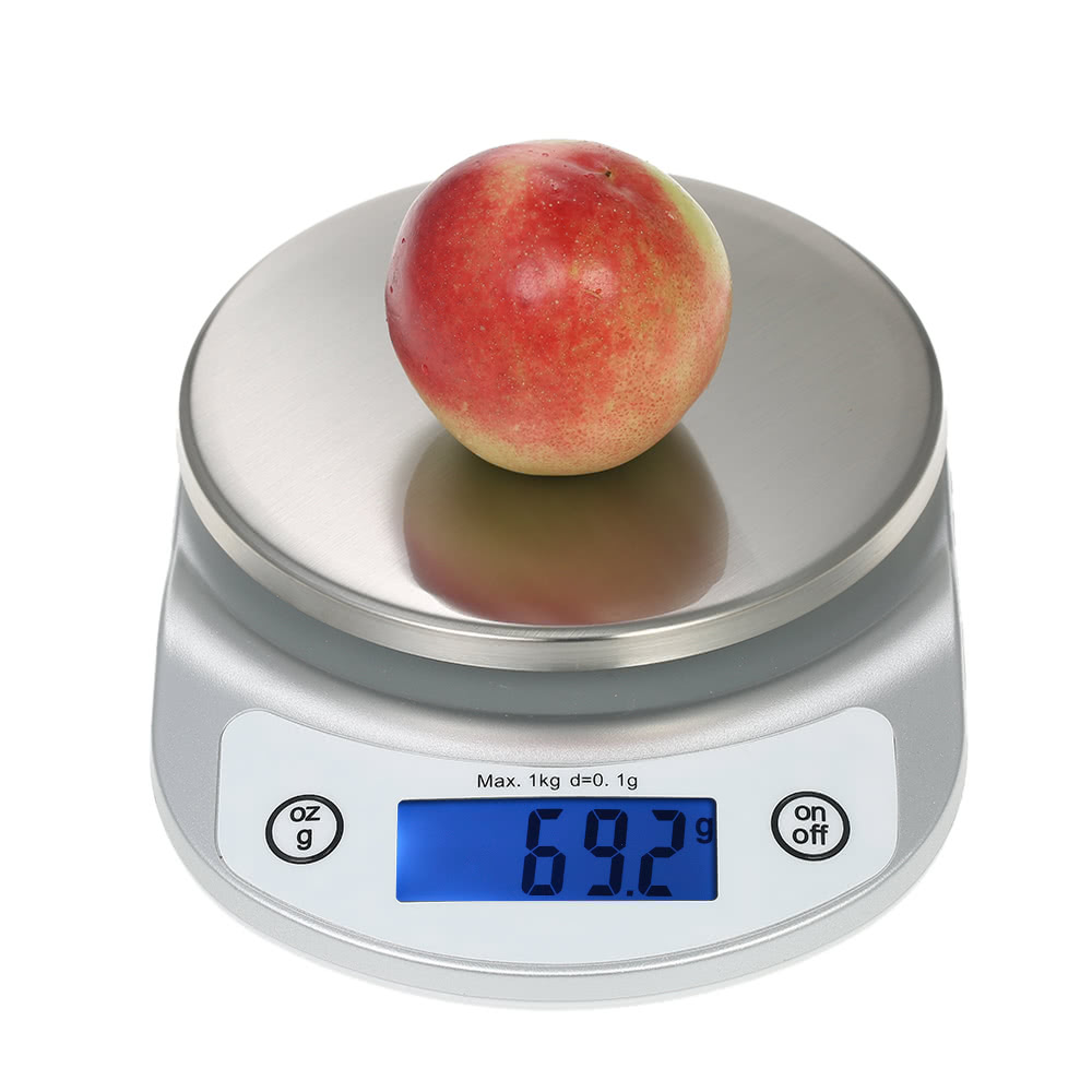 1kg accurate kitchen scale high precision pocket food for Food bar 2000