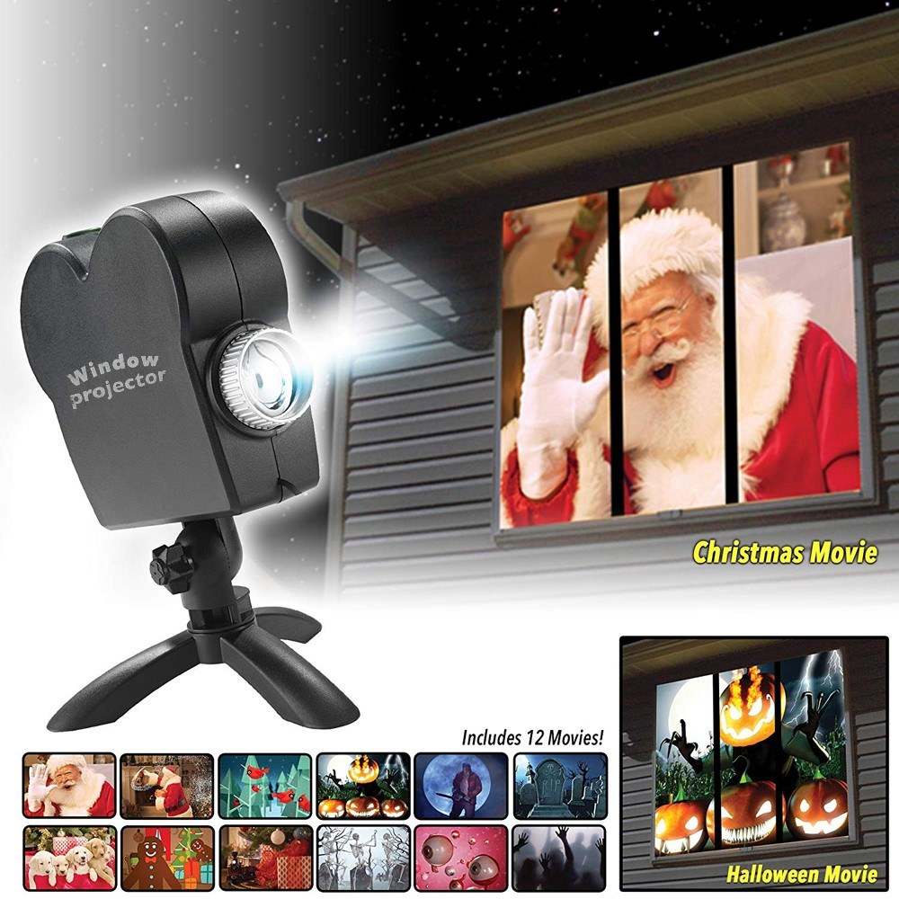 window wonderland projector wall movie sales online eu - tomtop