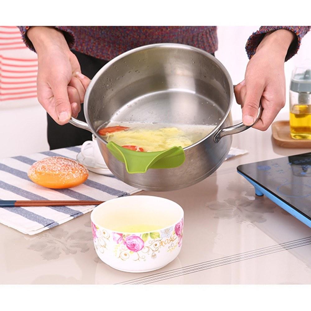 Utiles de cocina herramientas de embudo de silicona 1 for Herramientas cocina