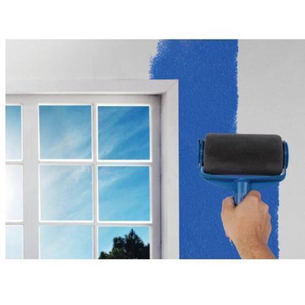 5pcs wall painting tools set paint roller runner brush for Wall painting utensils
