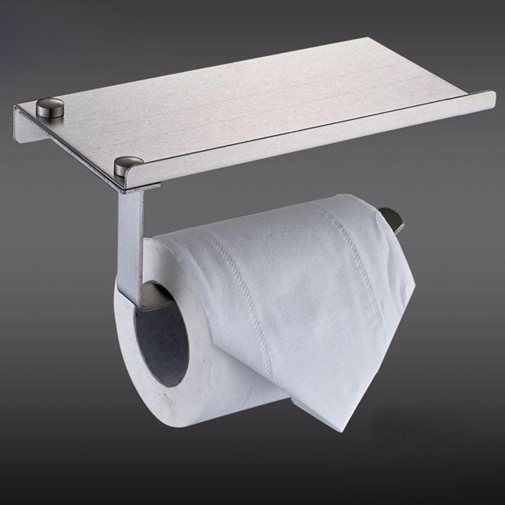 cabinet dp amazon holder spectrum bathroom the home towel kitchen drawer diversified nickel paper com brushed over