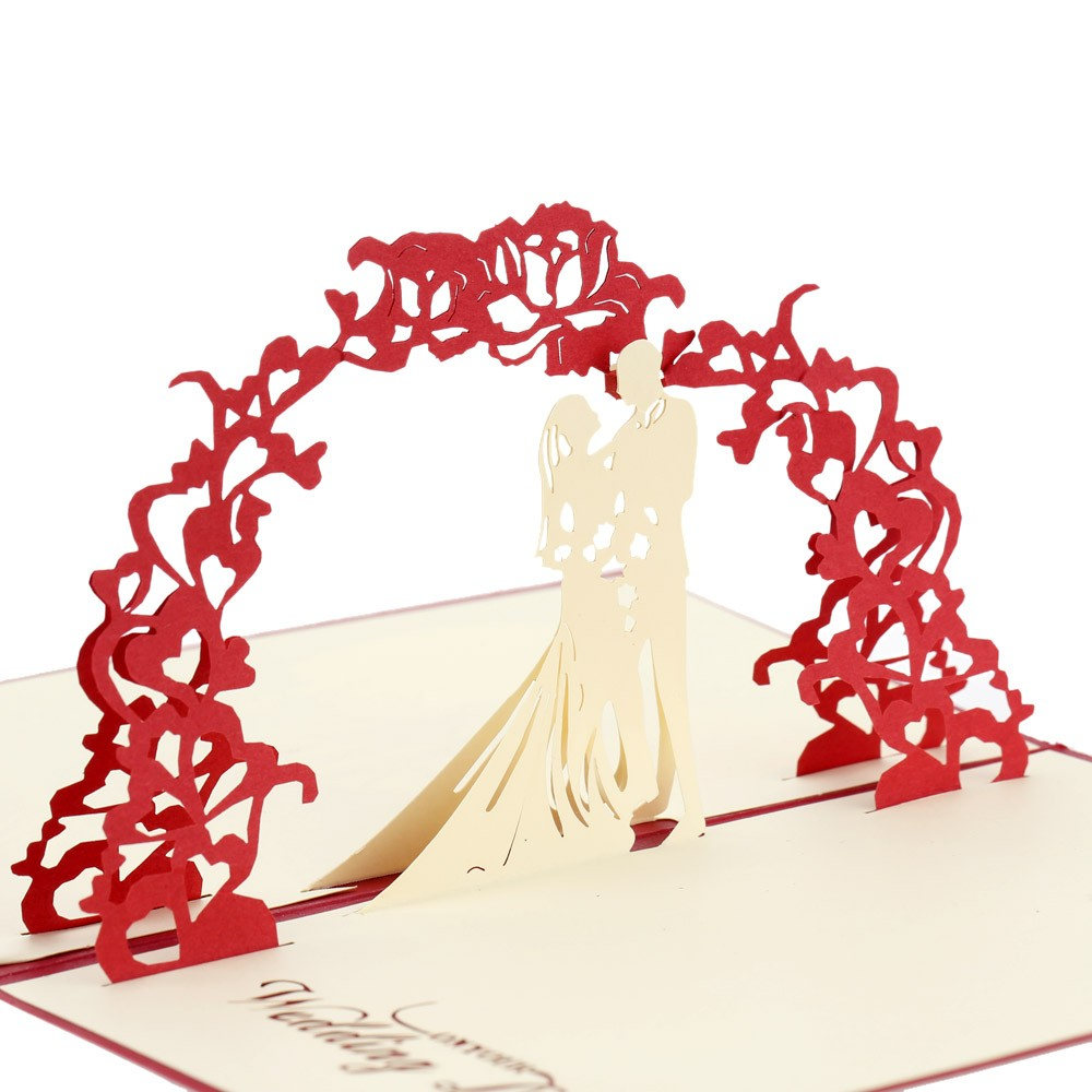 Киригами открытки на свадьбу, картинки