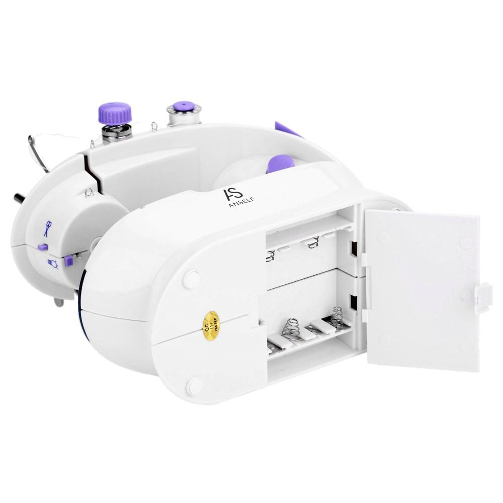 Anself mini della famiglia viola elettrico macchina da for Pedale elettrico per macchina da cucire