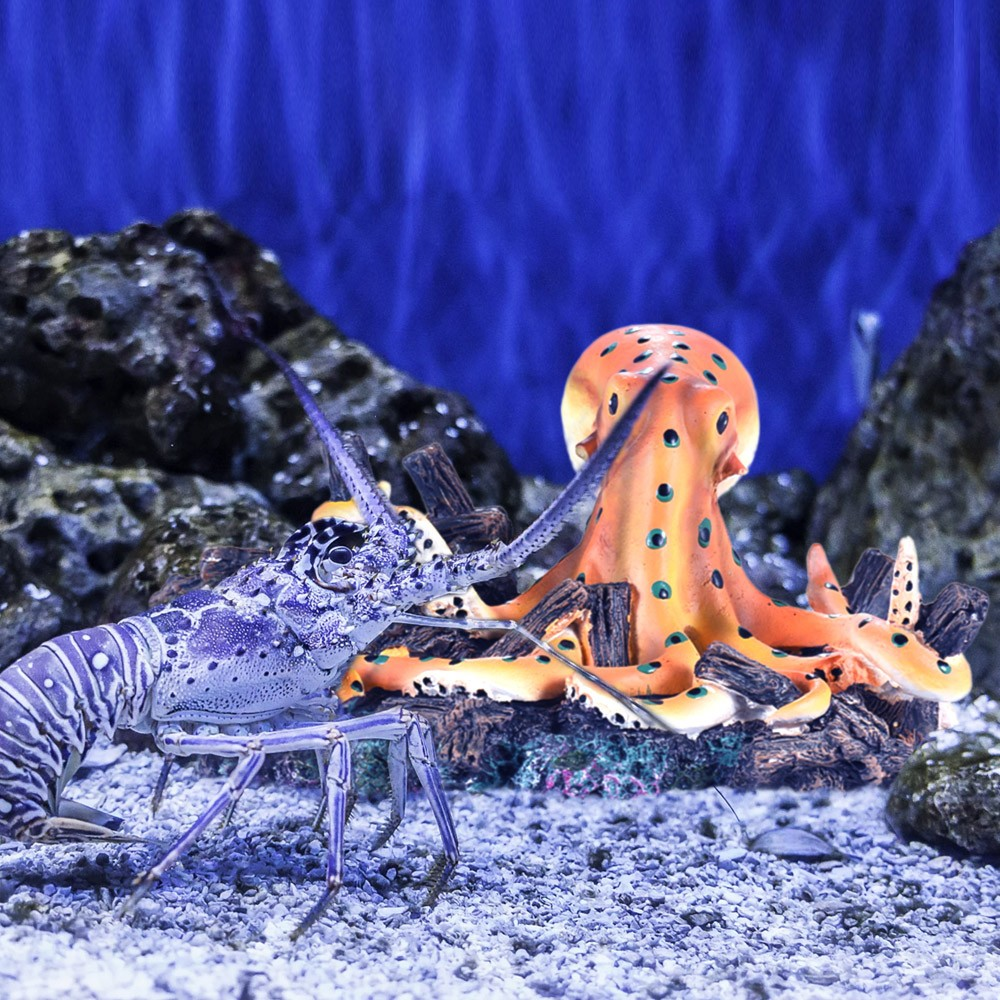 Imitation live octopus aquarium fish tank decoration for Octopus fish tank