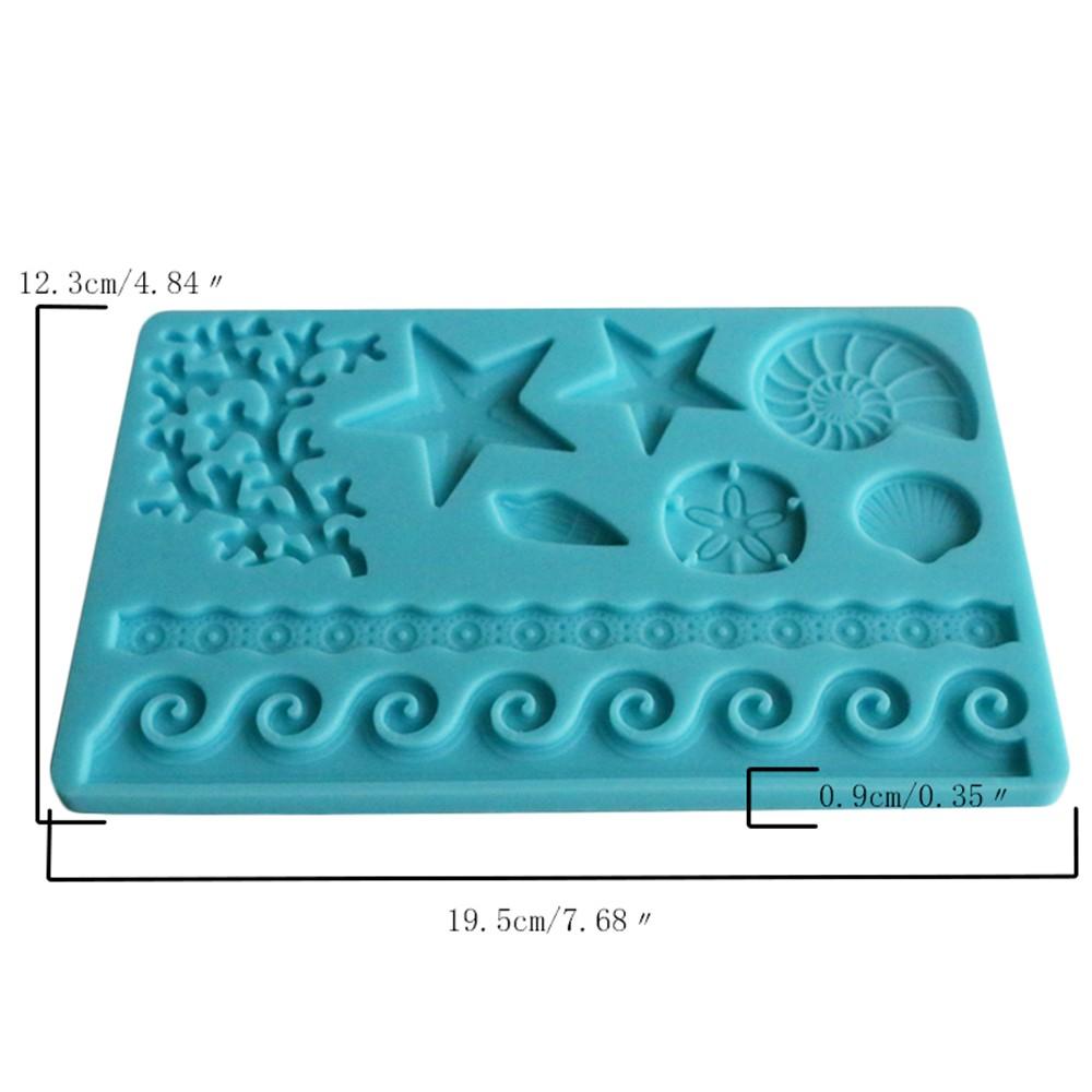 Diy Silicone Fondant Mold Cake Decoration Tools Sugar Baking Icing