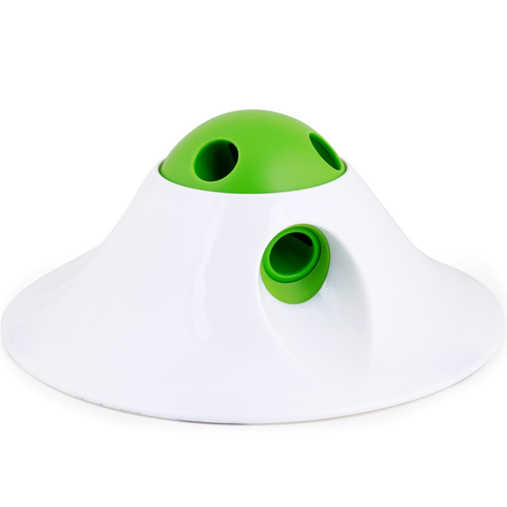 L'Chic Flying Saucer Shape Pet Leak Food Dispenser Toy
