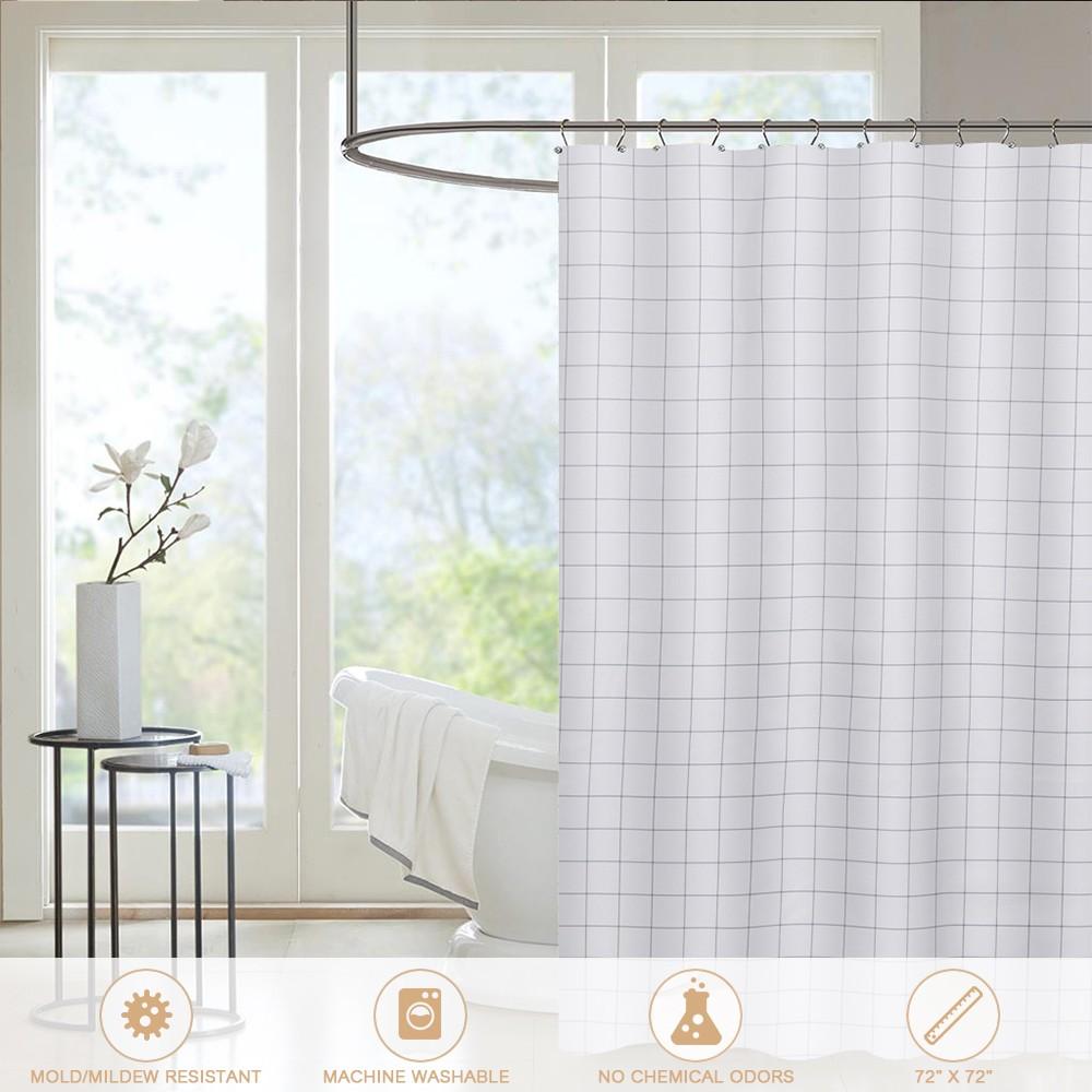 Htovila 72 * 72\'\' 100% Polyester Decorative Privacy Protection ...