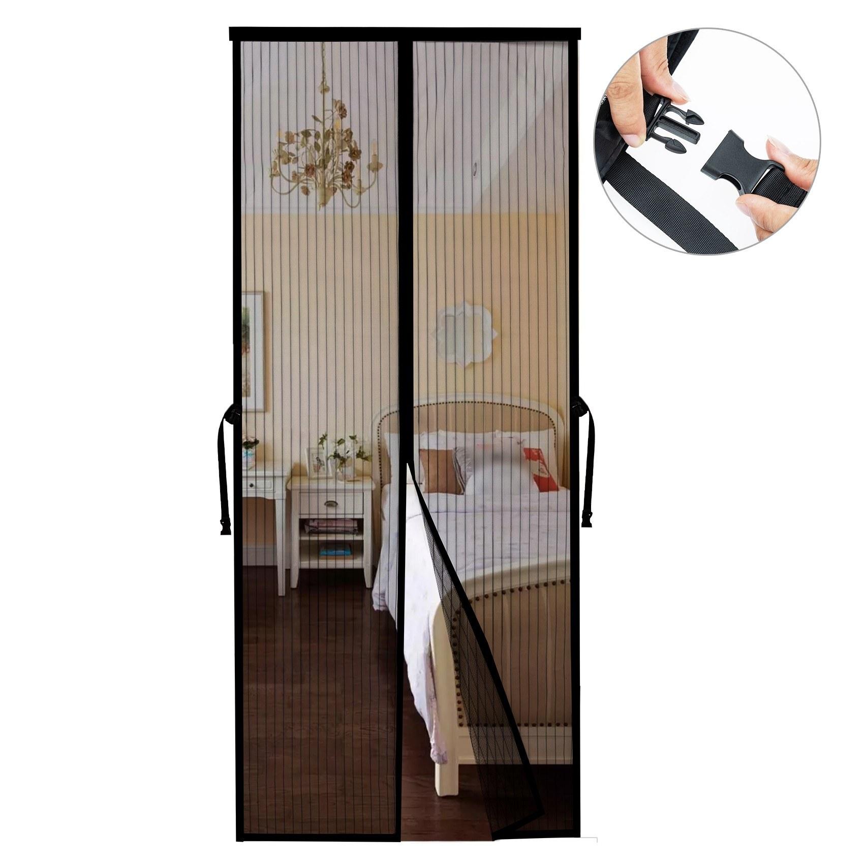 Tomtop - 39% OFF Magnetics Screen Door with Full Frame Magic-Tape, $16.99 (Inclusive of VAT)