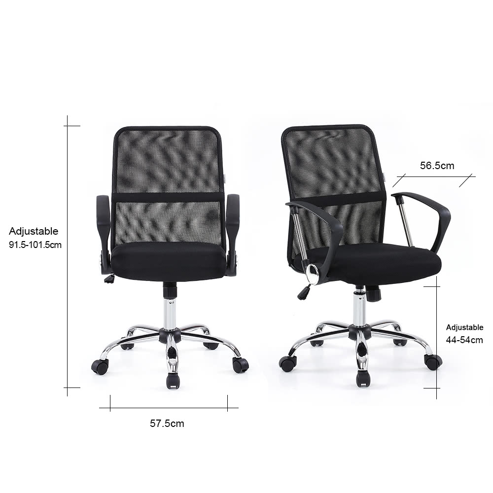ikayaa ergonomique mesh ajustable pr sident ex cutif. Black Bedroom Furniture Sets. Home Design Ideas