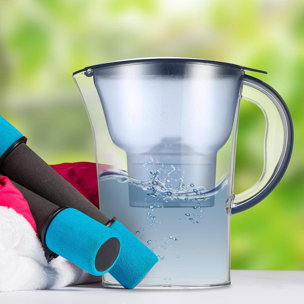 pichet eau haut de gamme avec 1 filtre bpa filtre gratuit bouilloire eau avec l ment. Black Bedroom Furniture Sets. Home Design Ideas