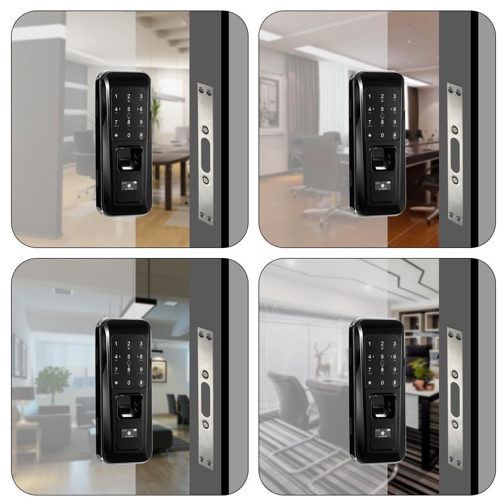 serrure empreinte digitale de porte ouverte d 39 empreinte digitale de porte ouverte d 39 empreinte. Black Bedroom Furniture Sets. Home Design Ideas