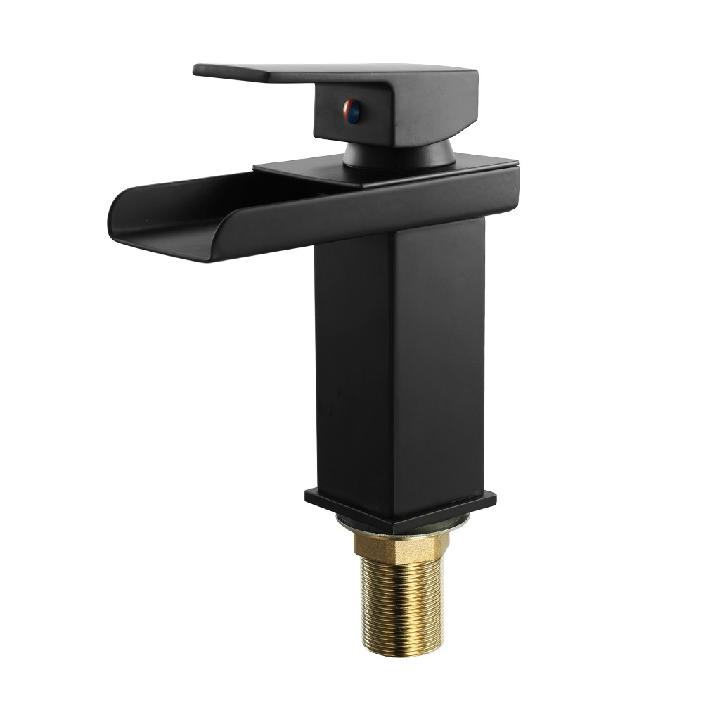 Best Water Power LED Bathroom Basin Water Faucet Hot and Cold Crane ...