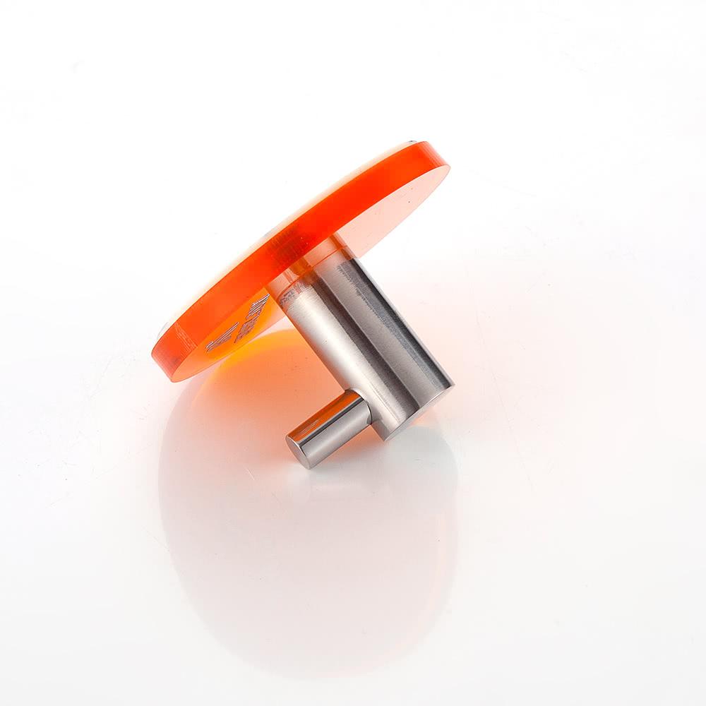 Accesorio de pared de acr lico de acero inoxidable gancho for Gancho adhesivo pared
