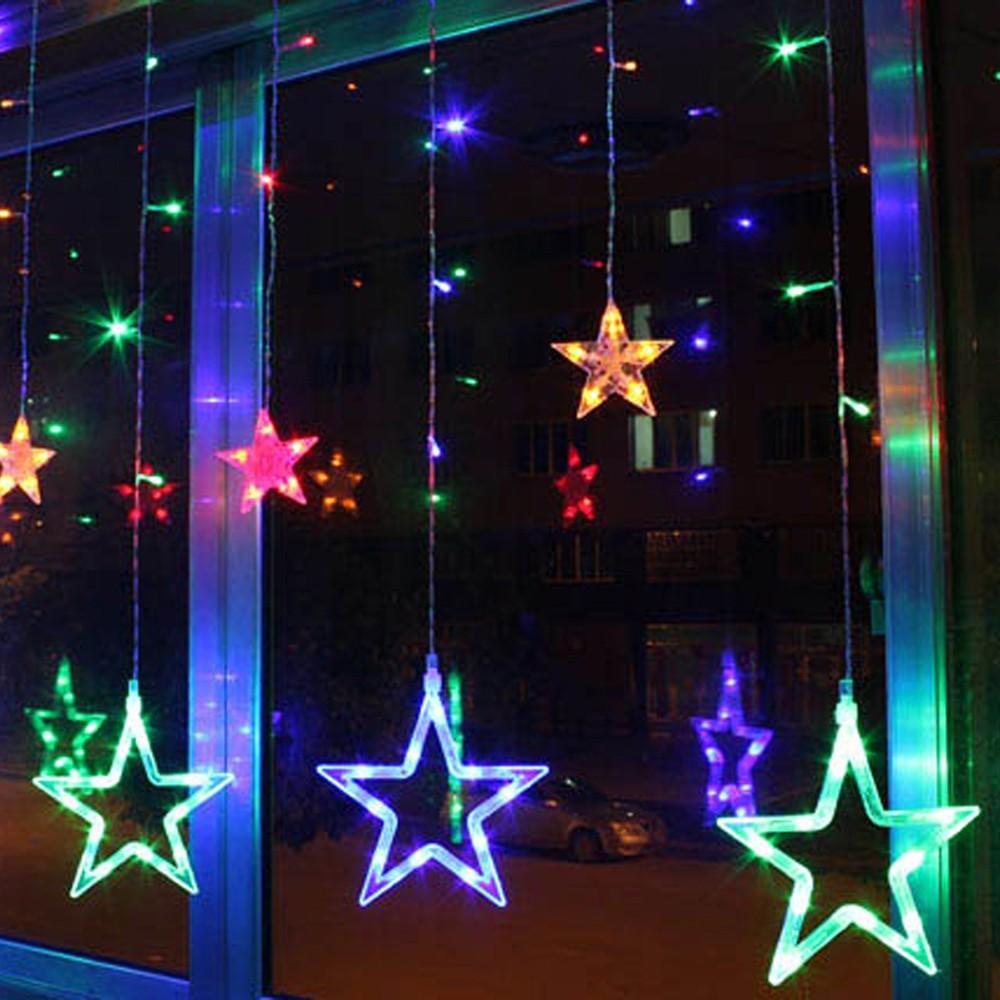 Beste Fancy Star Vorhang LED Light Romantische Fairy String Licht mc ...