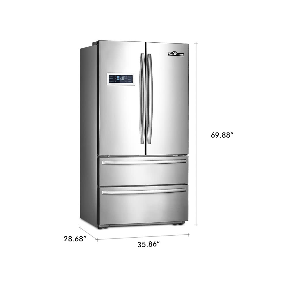 Thor Kitchen Hrf3601f 36 20 Cu Ft Large Capacity High