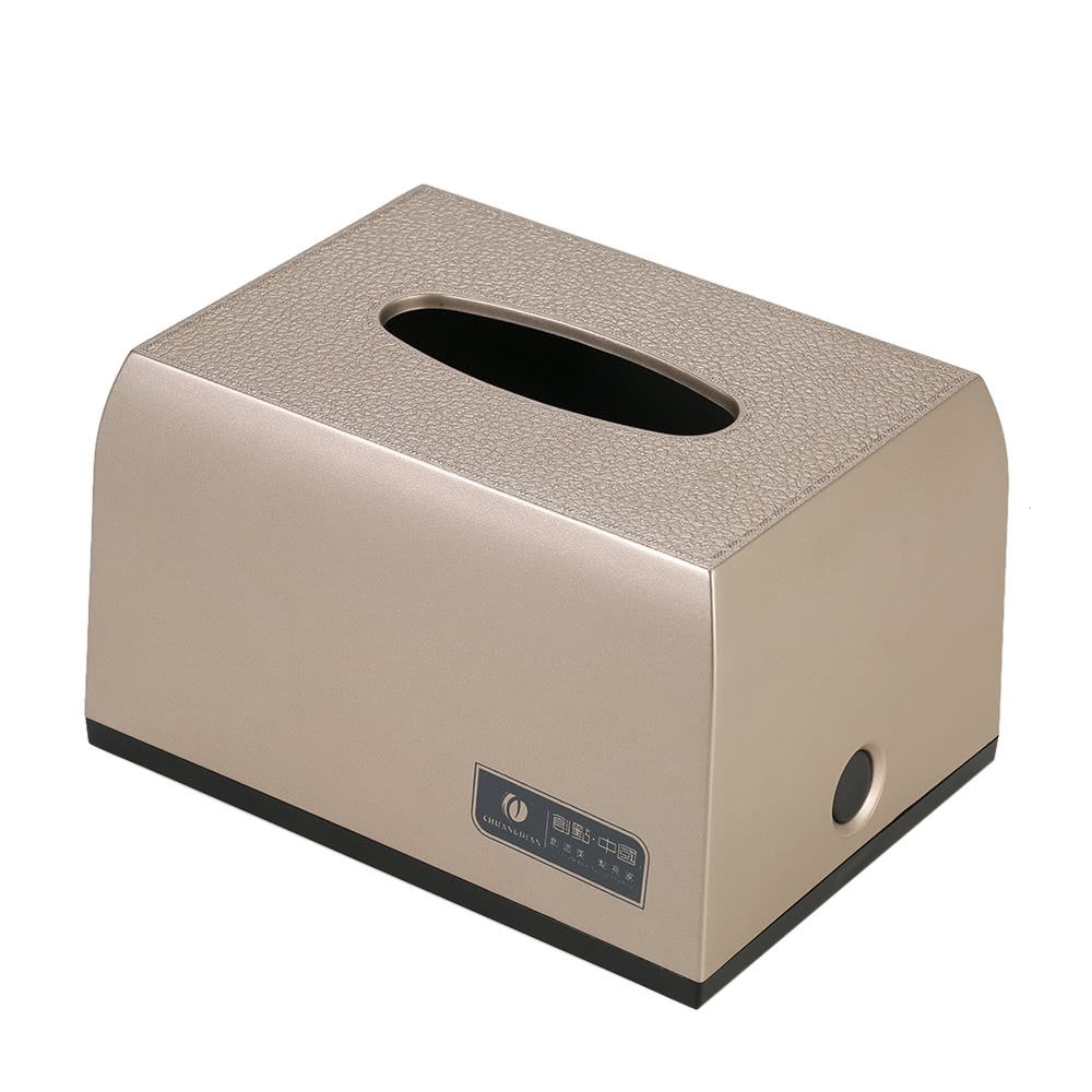 Chuangdian Hotel Household Bathroom Facial Tissue Paper Dispenser Box Cover Napkin Holder Towels