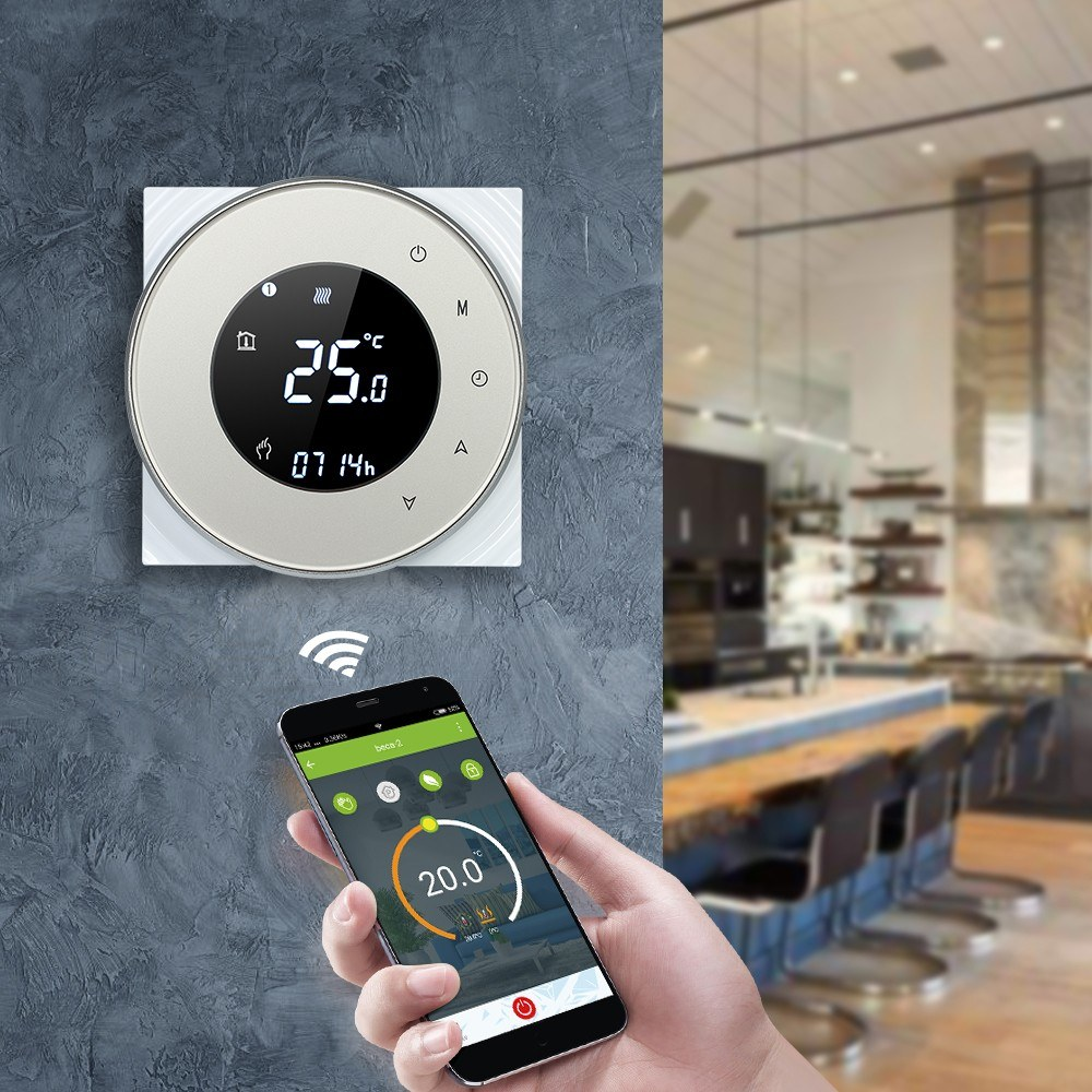 5A Programmable Water Heating Controller Temperature Regulator