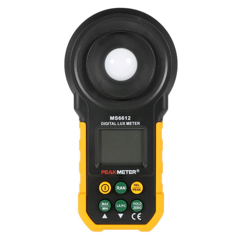 Multifunction Meter 96x96 : Peakmeter ms digital lux meter handheld multifunction