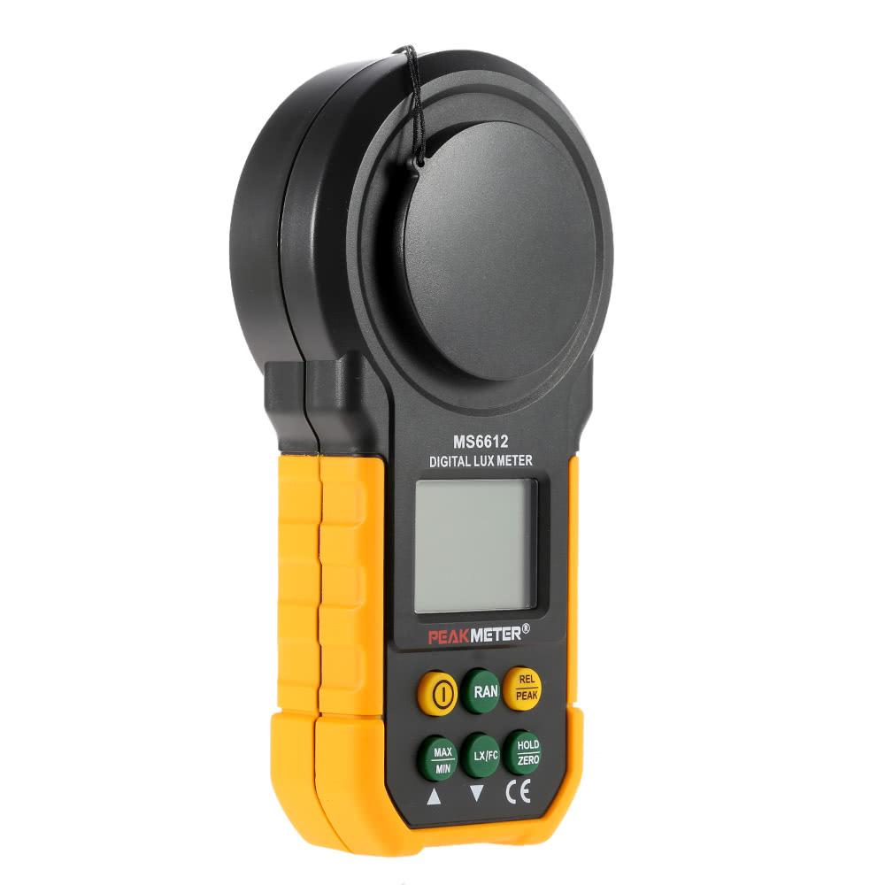 Digital Lux Meter : Best peakmeter ms digital lux meter handheld