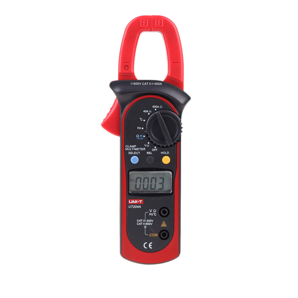 A Digital Clamp Meter 400 : Best uni t ut a digital clamp black red sale