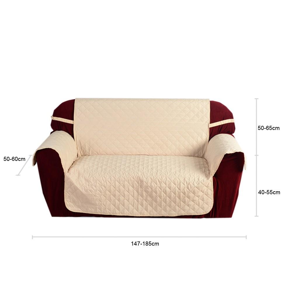 housse matelass e microfibre soft canap couverture coussin dossier couvrant mat pour maison. Black Bedroom Furniture Sets. Home Design Ideas