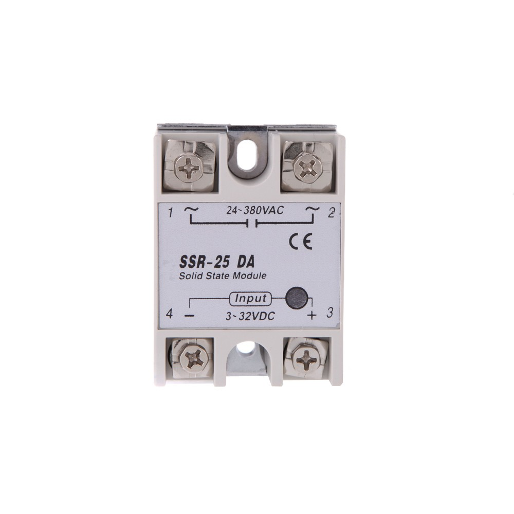 24v 380v 25a Ssr 25 Da Solid State Relay Module For Pid Temperature Wiring To The Controller 3 32v Dc Ac Sales Online Tomtop