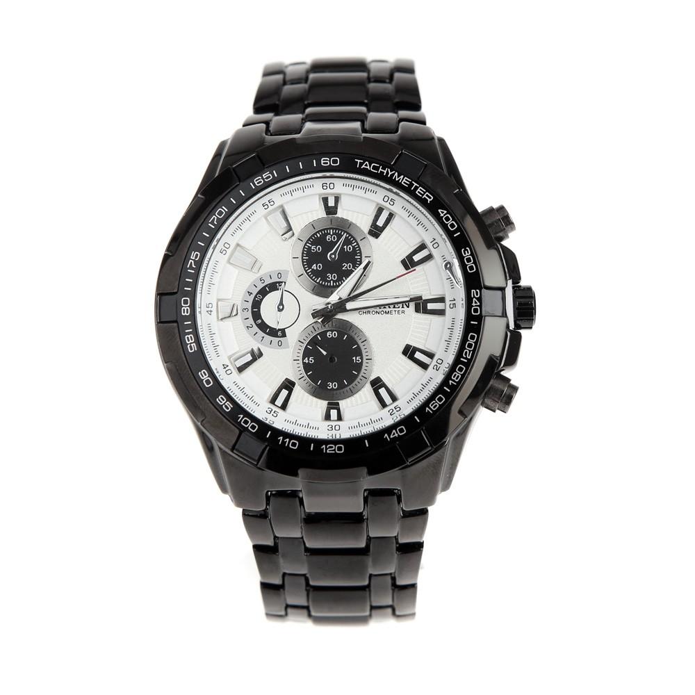 ea3f54c8a29 CURREN 8023 moda negócios homens relógio resistente à água inox relógio de  quartzo analógico preto + branco - Tomtop.com