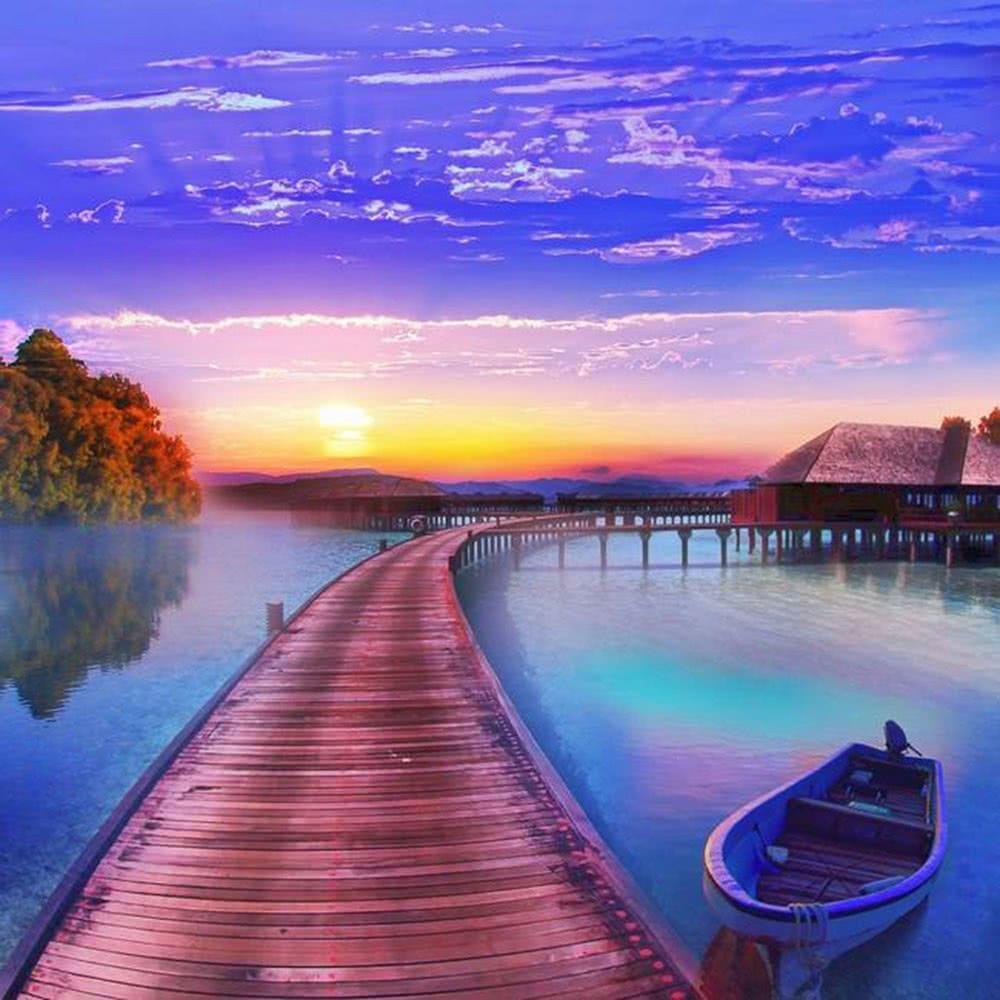 Anself ufai da te a mano diamante tela set cabina in barca for Planimetrie della piccola casa sul lago