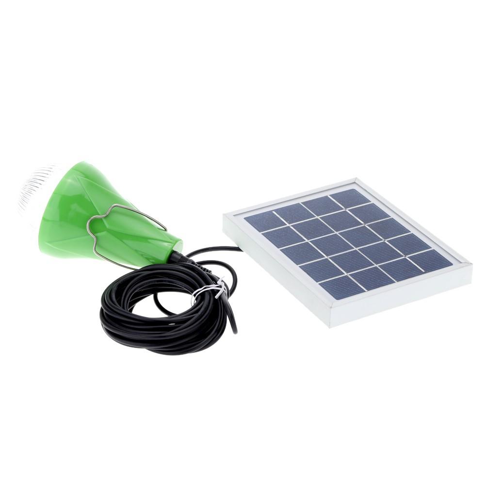 Led lumi re solaire lampe 5w syst me d 39 eclairage pratique for Lumiere solaire exterieur