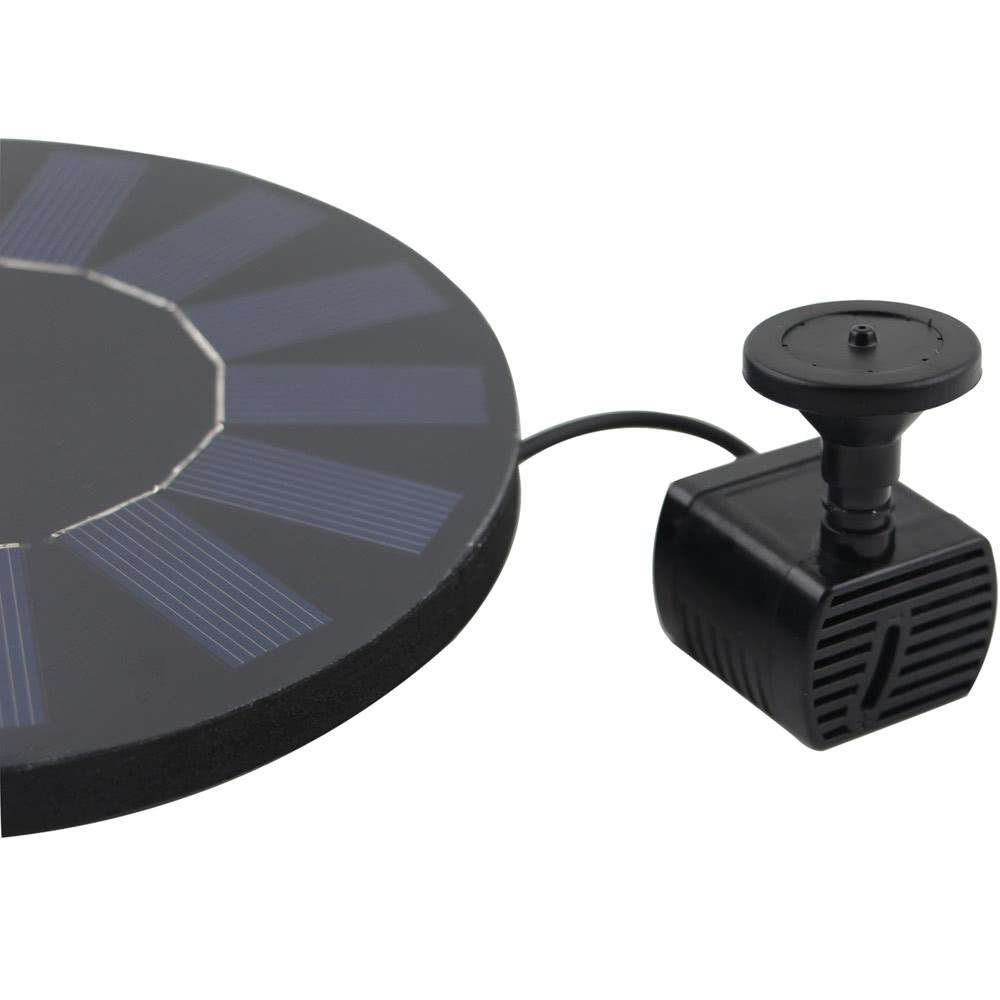 Pannello Solare Per Fontana : Anself fontana solar power le piante di con pannello