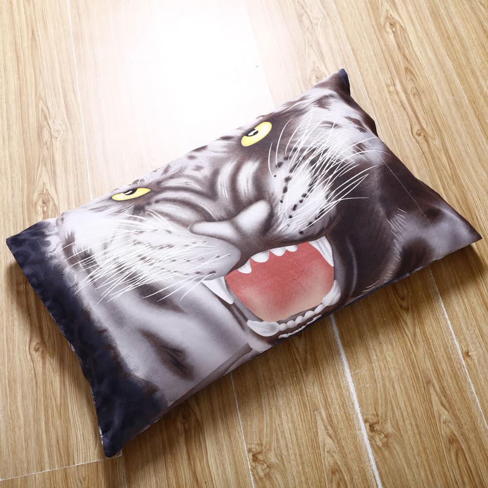 4pcs 3d Printed Bedding Set Bedclothes Black Tiger Queen