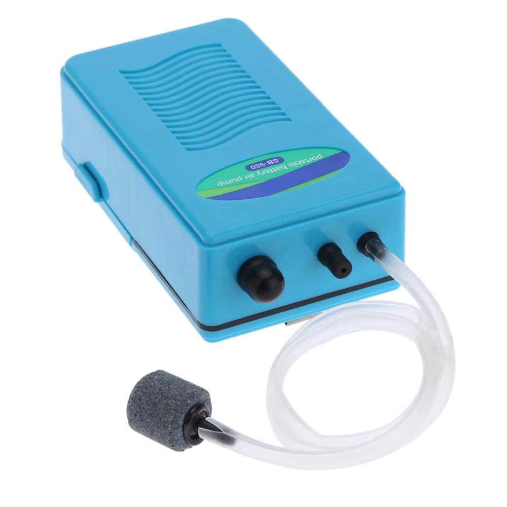 Portable Air Oxygen Pump For Fish Tank Aquarium With Soft
