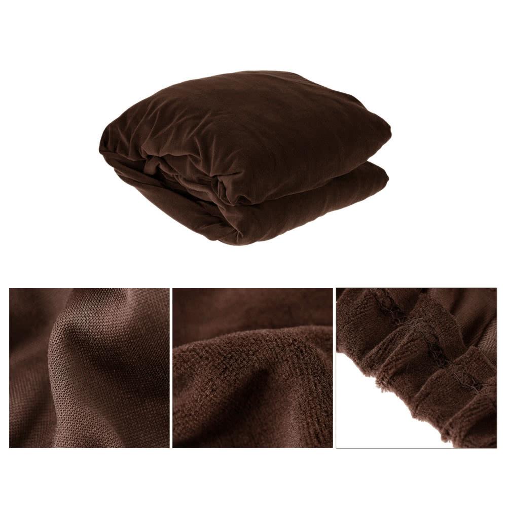 Haute qualit lastique doux polyester spandex housse for Housse couverture