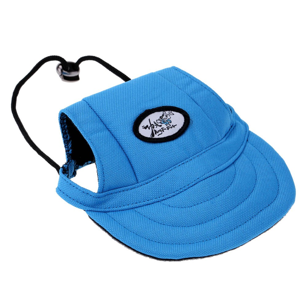 Fashion Adorable Dog Visor Breathable Fabric Comfortable Baseball Hat Pet  Sun Hat Cute Sun Cap with Ear Holes Sales Online blau - Tomtop faf6abc31c22