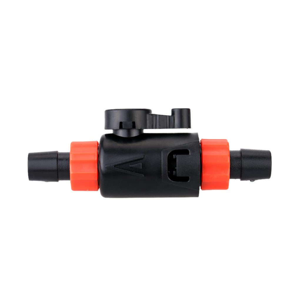 Fish tank water flow control valve changer to connect hose for Connecting fish tanks