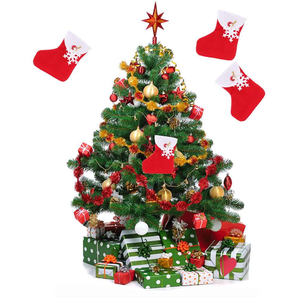 neu stil mini weihnachtsbaum h ngend socken ornament. Black Bedroom Furniture Sets. Home Design Ideas