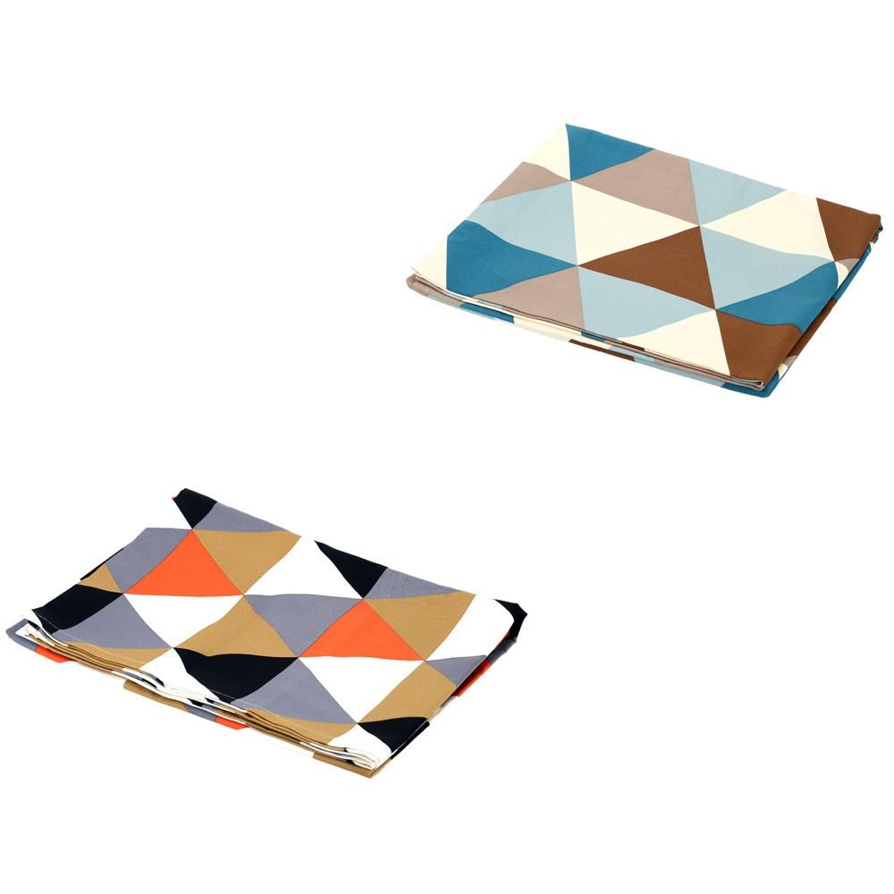 Triangolo geometrico moderno modello copritavolo panno - Copritavolo moderno ...