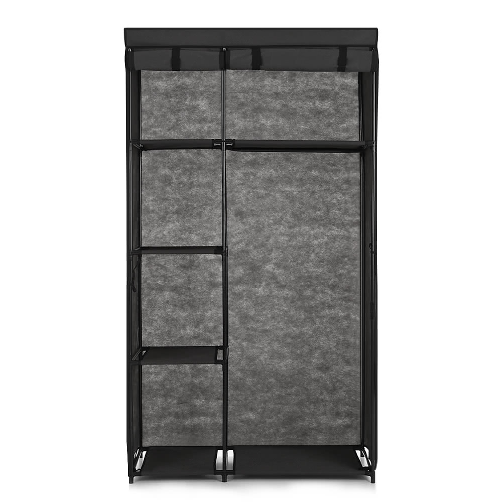 ikayaa mode tragbaren stoff schrank schrank schrank roll. Black Bedroom Furniture Sets. Home Design Ideas
