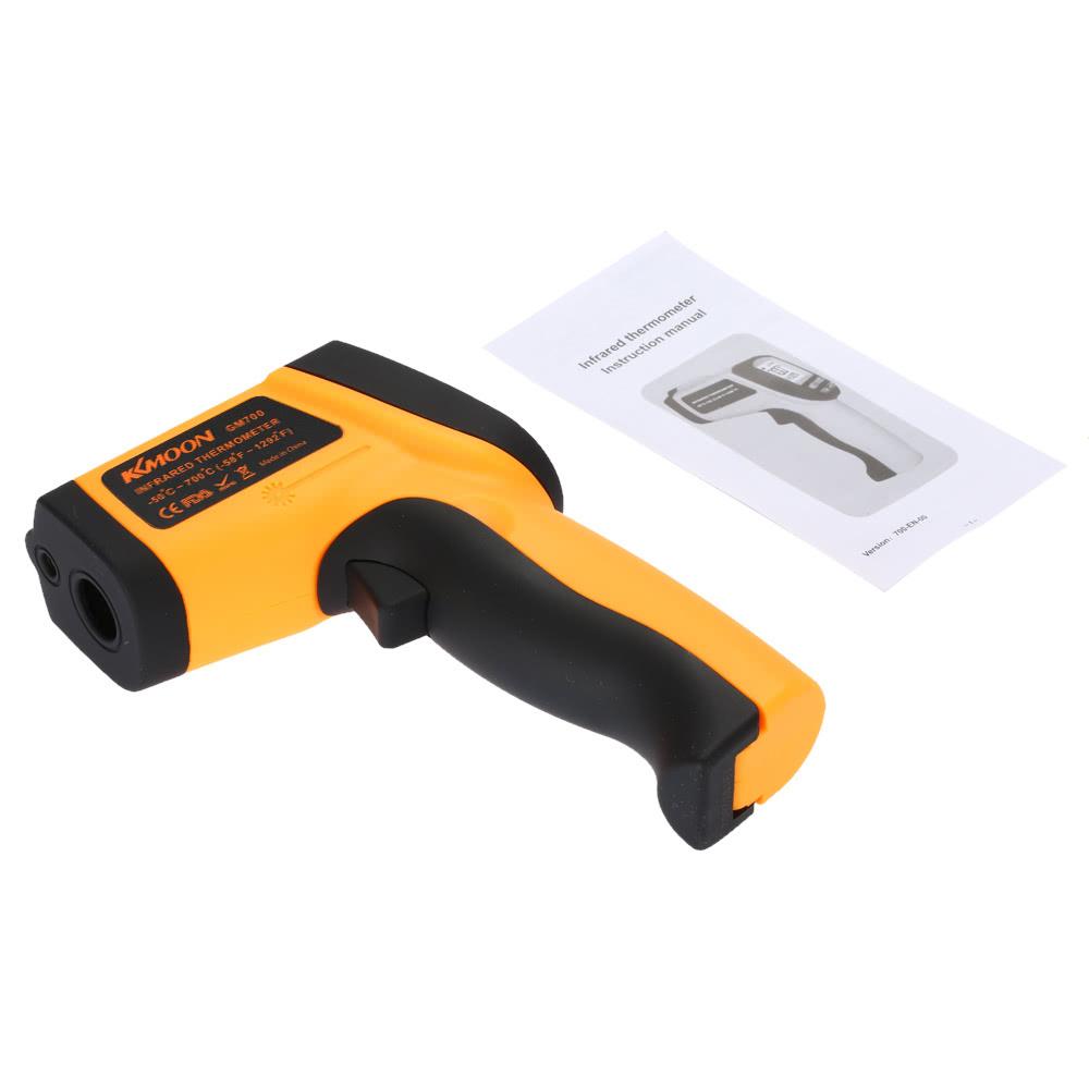Thermomètre Four À Pain 500 kkmoon non-contact laser ir thermomètre digital
