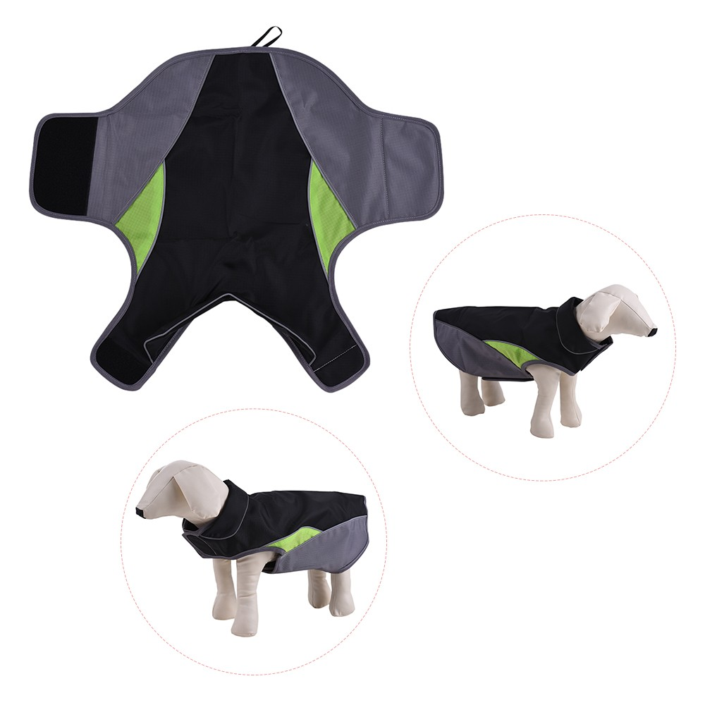 Pet  Winter Jacket Ski Clothing Vest Clothes Coat Outdoor Sport Reflective Apparel Costume Water Resistant & Wind Resistant Keep Warm for Small Medium and Large Dogs