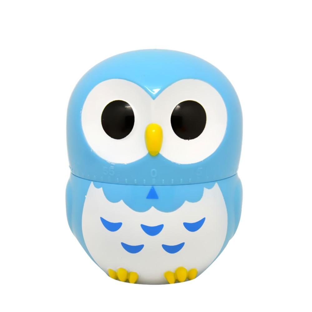 meilleur minuterie de cuisine lovely cartoon owl 60 minuterie m canique bleu vente en ligne. Black Bedroom Furniture Sets. Home Design Ideas