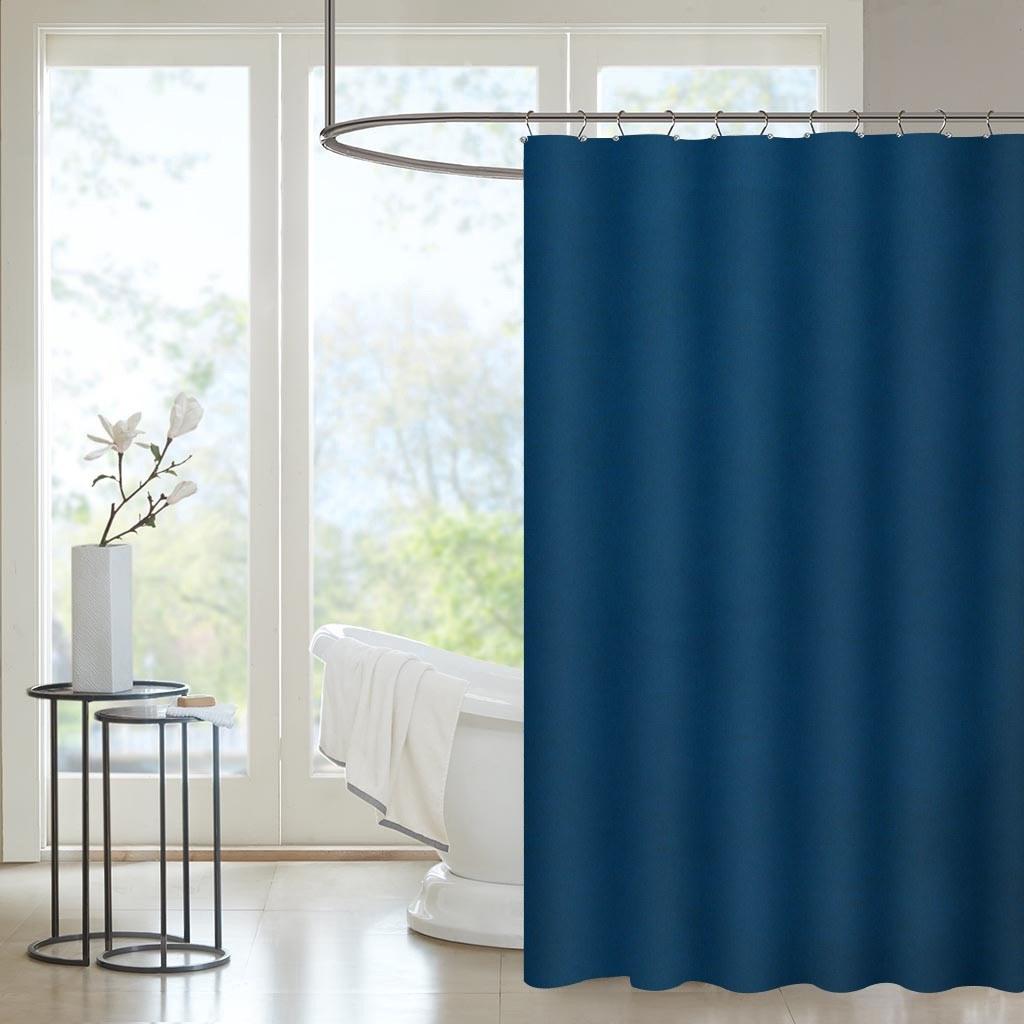 Navy Blue And Tan Bathroom: Htovila 72 * 72'' Polyester Waterproof Mildewproof Shower