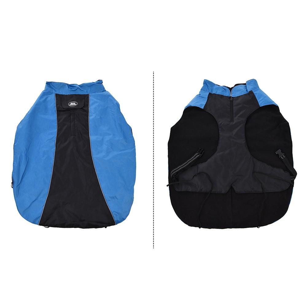 Pet Large Dogs Winter Jacket Ski Clothing Vest Clothes Coat Adjustable Waterproof Wind Resistant Keep Warm Reflective Outdoor Sport Apparel Costume