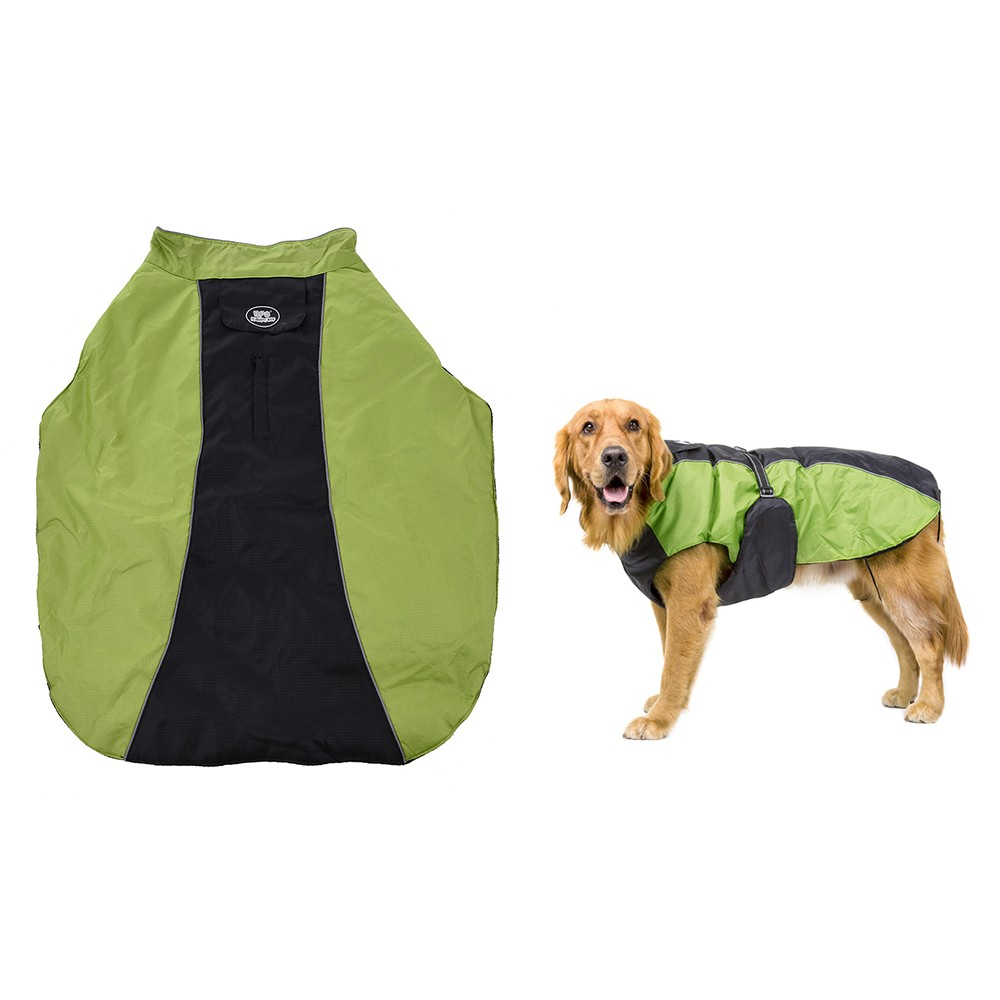 Pet large dogs winter jacket ski clothing vest clothes coat adjustable waterproof wind resistant - Keeping outdoor dog happy winter ...