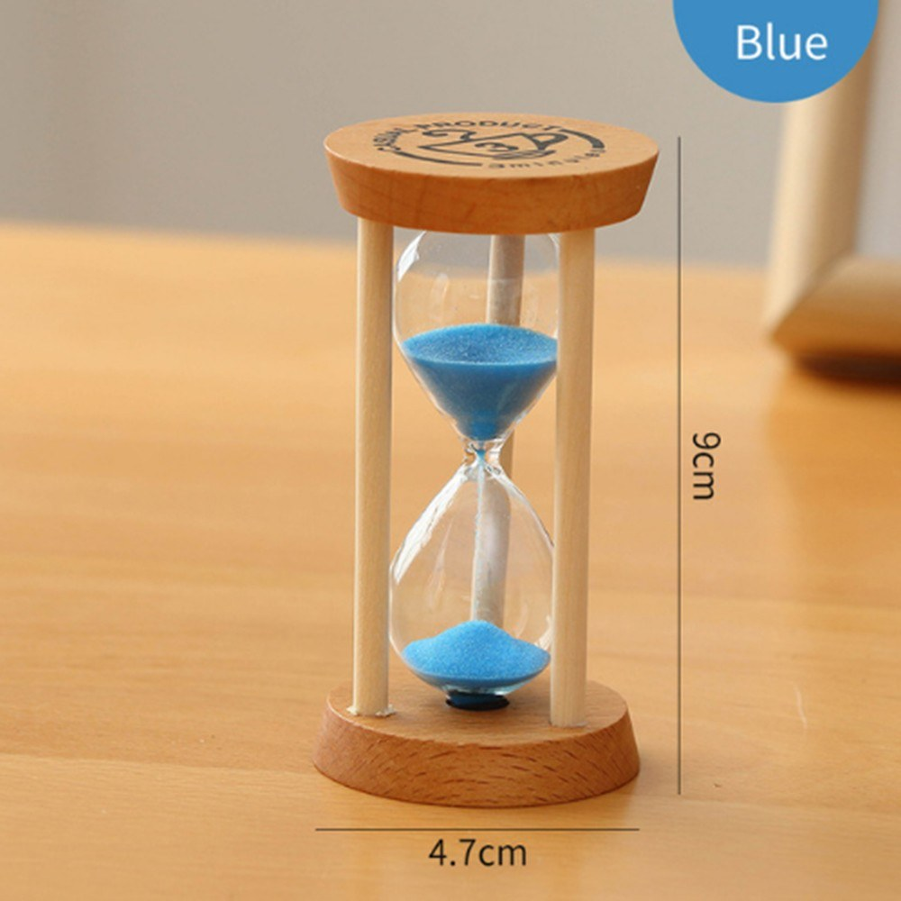Hourglass Sand Timer 3 Minutes Sand Clock Sales Online blue - Tomtop