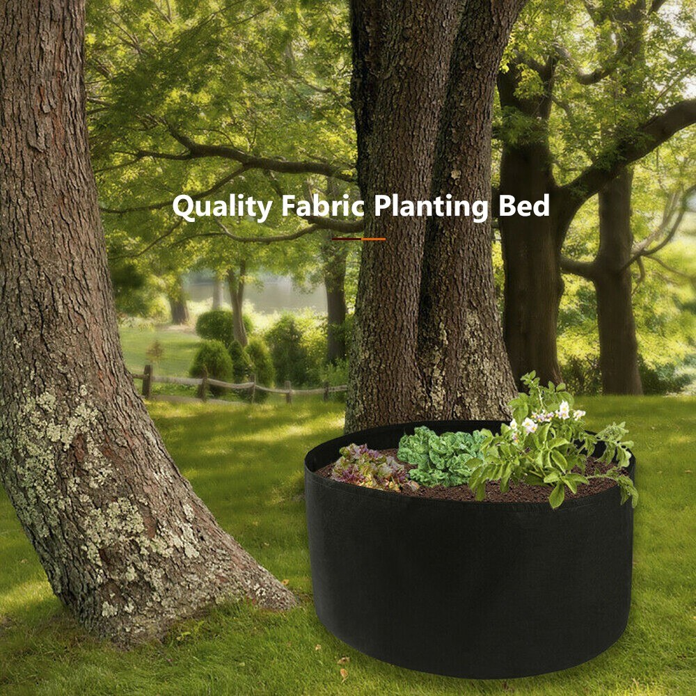 Fabric Raised Planting Bed Raised Garden Bags