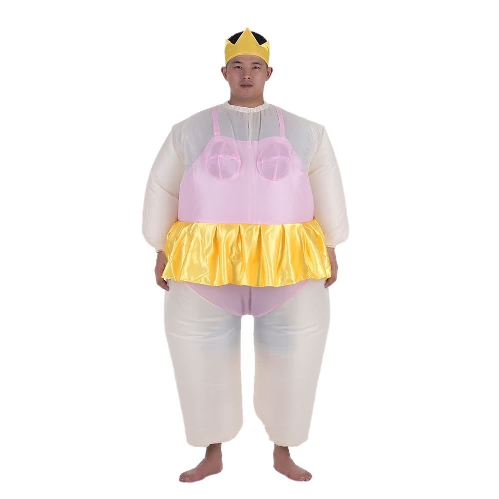 Cute Adult Inflatable Ballerina Costume Fat Suit for Women/Men Air Fan Operated Blow Up Halloween Party Fancy Jumpsuit Outfit  sc 1 st  Tomtop.com & Cute Adult Inflatable Ballerina Costume Fat Suit for Women/Men Air ...