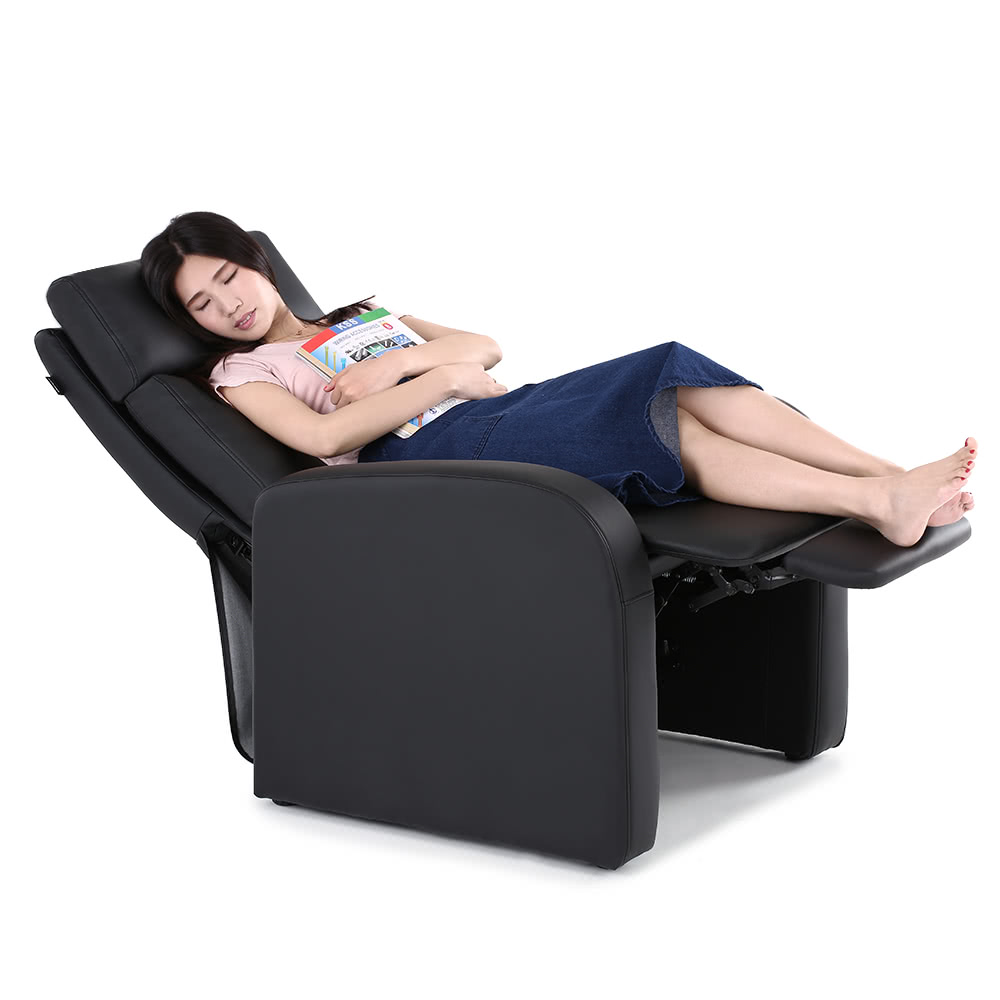 ikayaa modern comfortable padded recliner bounded leather sa
