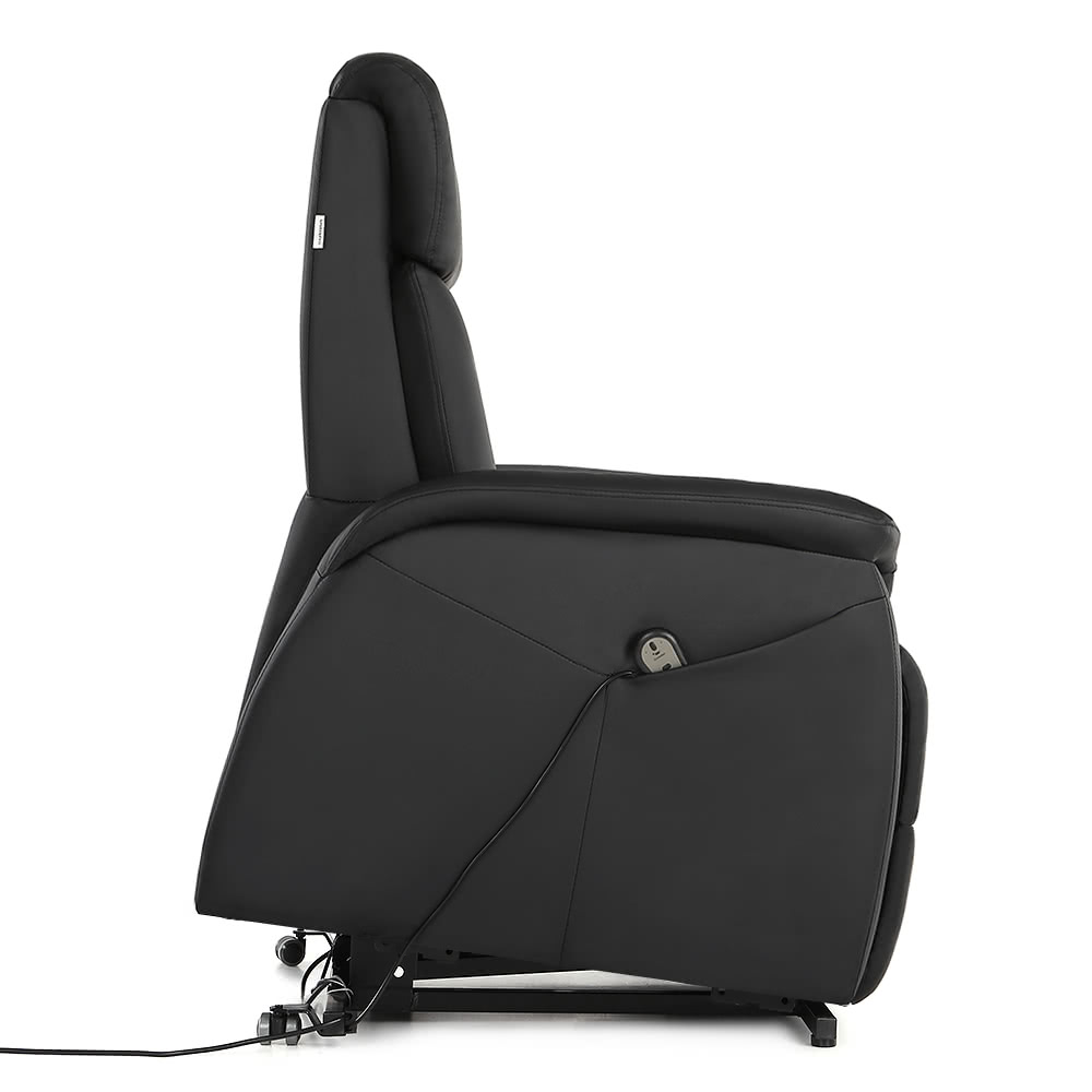 Ikayaa modern comfortable power lift recliner padded high quality bounded leather lift chair - Modern leather recliner that is totally comfortable ...